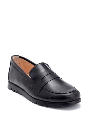 Derimod Kadın Loafer (02-6001) Casual Siyah